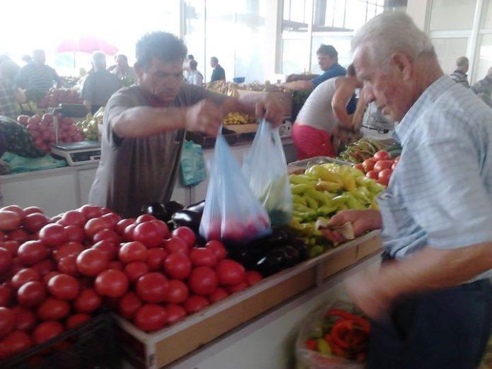 Цени на зеленчук