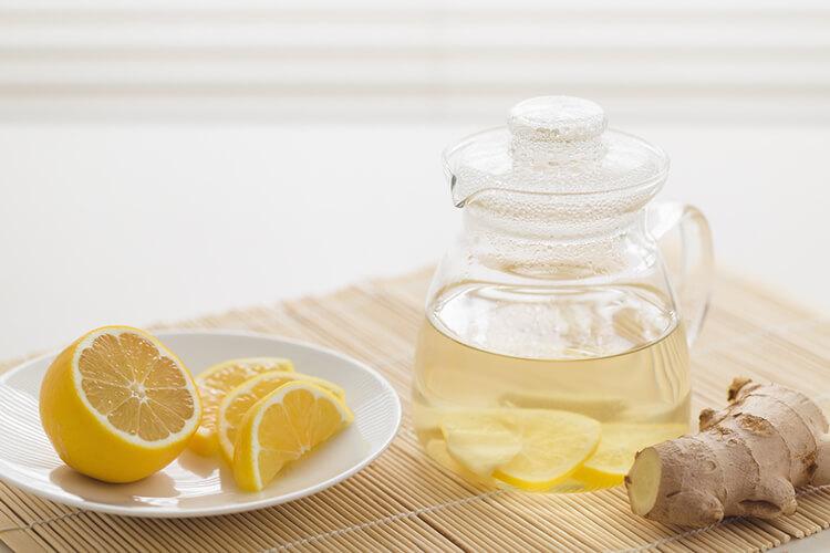ѓумбир и лимон
